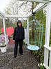 Keukenhof Gardens; Suzanne and cage