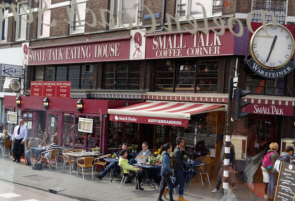 Amsterdam; Small Talk Eating House