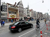 Amsterdam; busy street scene