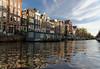 Amsterdam; canal scene
