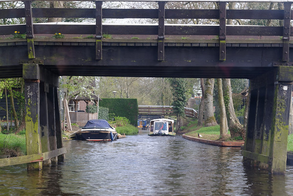 Giethoorn; a few of the 150 bridges