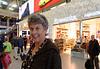Suzanne, Amsterdam airport