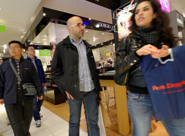 Amsterdam; de Bijenkorf department store
