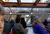 Amsterdam; view from inside the tour boat