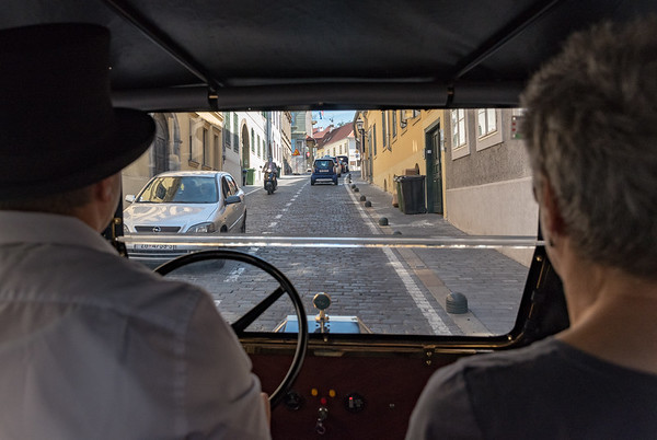 Zagreb - view from the inside