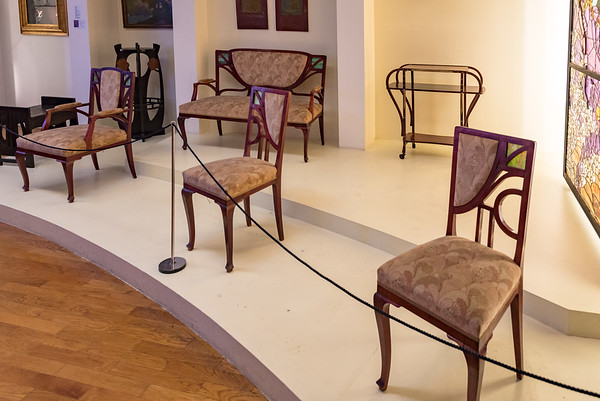 Zagreb - Museum of Arts and Crafts - '20s furniture