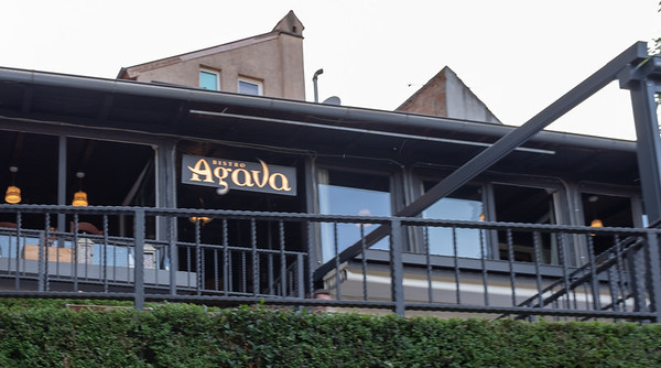 Zagreb - dinner at Agava, excellent