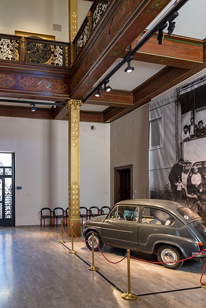 Zagreb - Museum of Arts and Crafts - Fiat 500