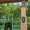 Zagreb - Botanical Gardens near our hotel