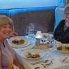 Budapest - Rezkakas Bistro, happy diners