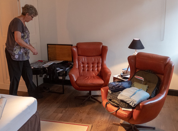 Budapest - getting packed for the Orient Express