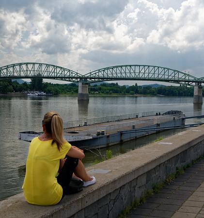 Štúrovo Slovakia - the Mária Valéria bridge