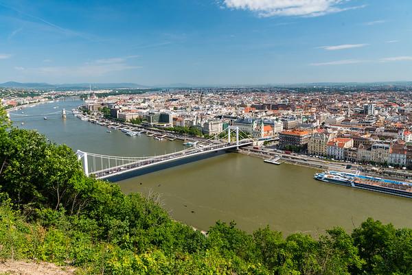 Budapest - Elisabeth and Chain Bridges
