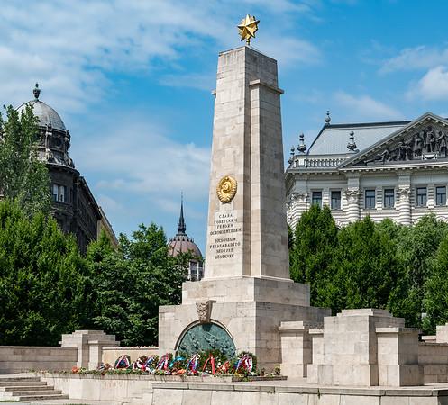 Budapest - Soviet War Memorial
