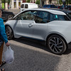 Budapest - an electric BMW i3, one of many