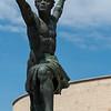 Budapest - smaller statue near Liberty Statue