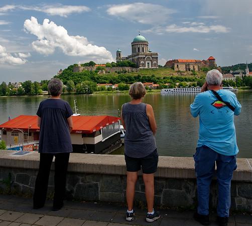Štúrovo Slovakia - view of the Basilica of Esztergom