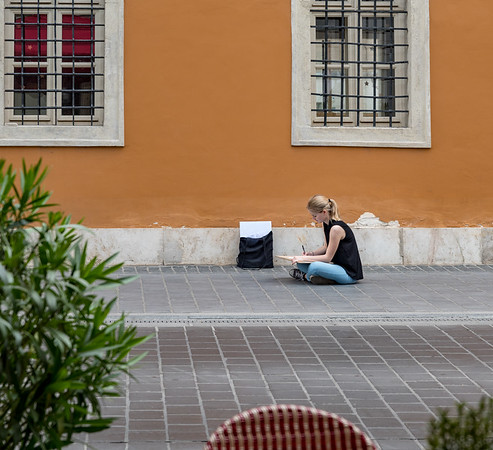Budapest - Art student