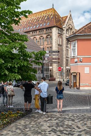 Budapest - street scene