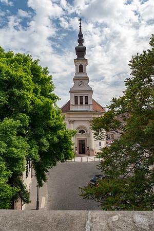 Budapest - Lutheran Church in Buda Castle