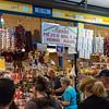Budapest - Great Market Hall, paprika of every kind