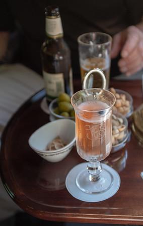 Orient Express - bar car, Guilty 12 drink