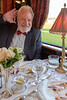 Orient Express - dining car, great meal