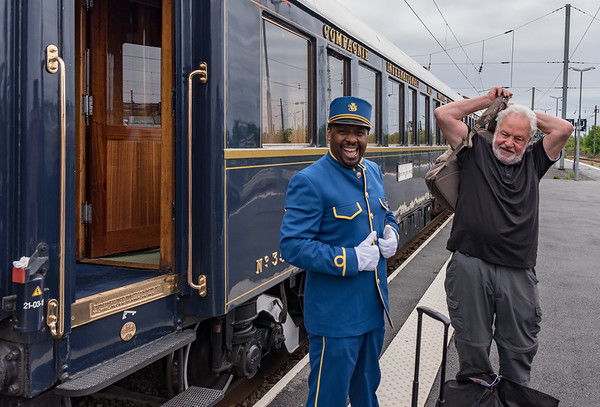 Orient Express - Lens France, Rupert in his usual low-key attitude