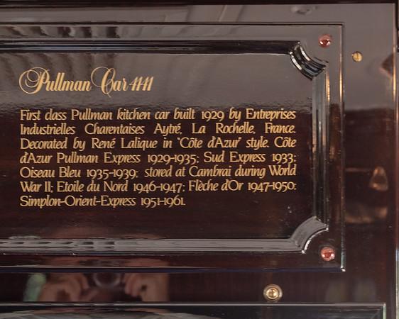 Orient Express - dining car