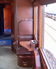 Orient Express - small seat in each sleeping car