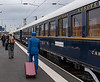 Orient Express - Lens France, headed to the bus