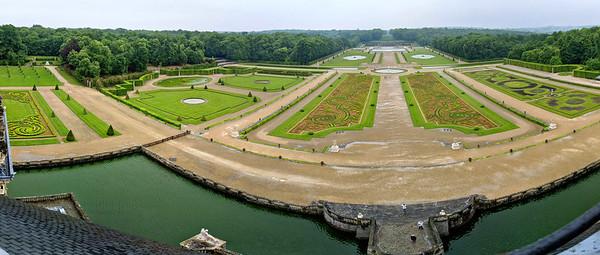 Vaux-le-Vicomte - panorama