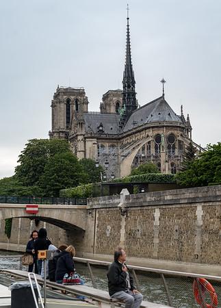 Paris - City Vision Tour boat tour, Notre-Dame de Paris