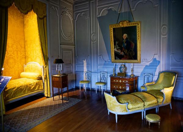 Vaux-le-Vicomte - the Praslin Bedchamber, Louis XVI style