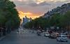 Paris - Avenue des Champs-Élysées, view away from the Arc Triomphe