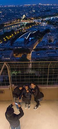 Paris - views from Eiffel Tower