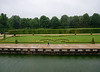 Vaux-le-Vicomte - moat, garden and trees