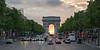 Paris - Avenue des Champs-Élysées,Arc de Triomphe