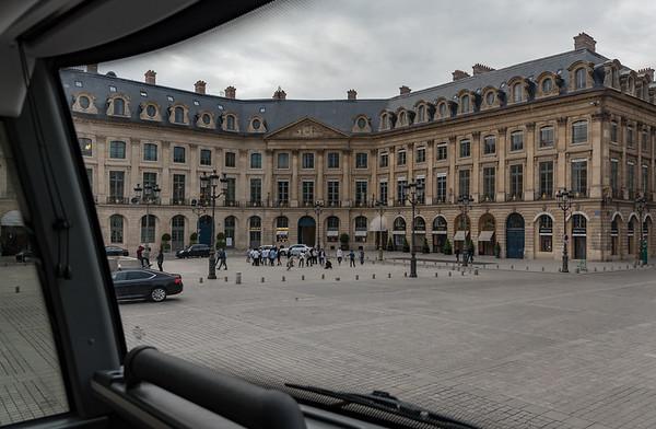 Paris - Place de Vendôme, upscale shops
