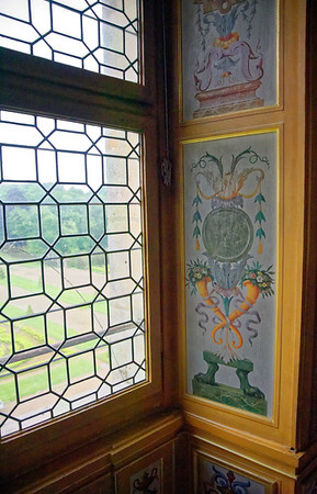 Vaux-le-Vicomte - window detail