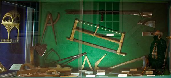 Vaux-le-Vicomte - tools used