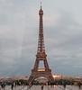 Paris - Eiffel Tower at sunset