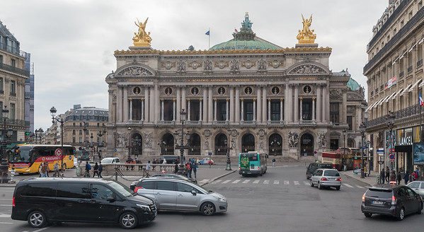 Paris - Palais Garnier - site of original Phantom of the Opera production