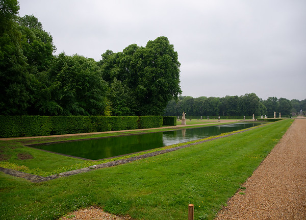 Vaux-le-Vicomte - lower pools, fed by a diverted river
