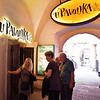 Prague - U Pavouka (Spider Tavern), down at the original street level