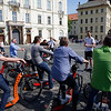 Prague Castle square, electric bike tour