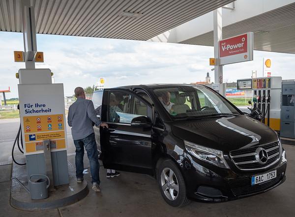 Austria - filling up at Grafenworth