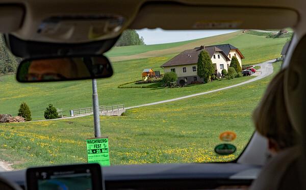 Austria - roadside scene