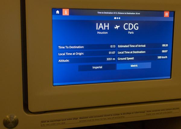 Air France - Houston to Paris, then on to Prague
