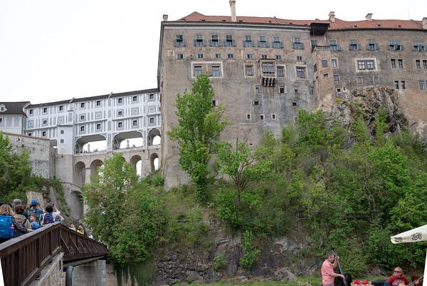 Cesky Krumlov - Castle